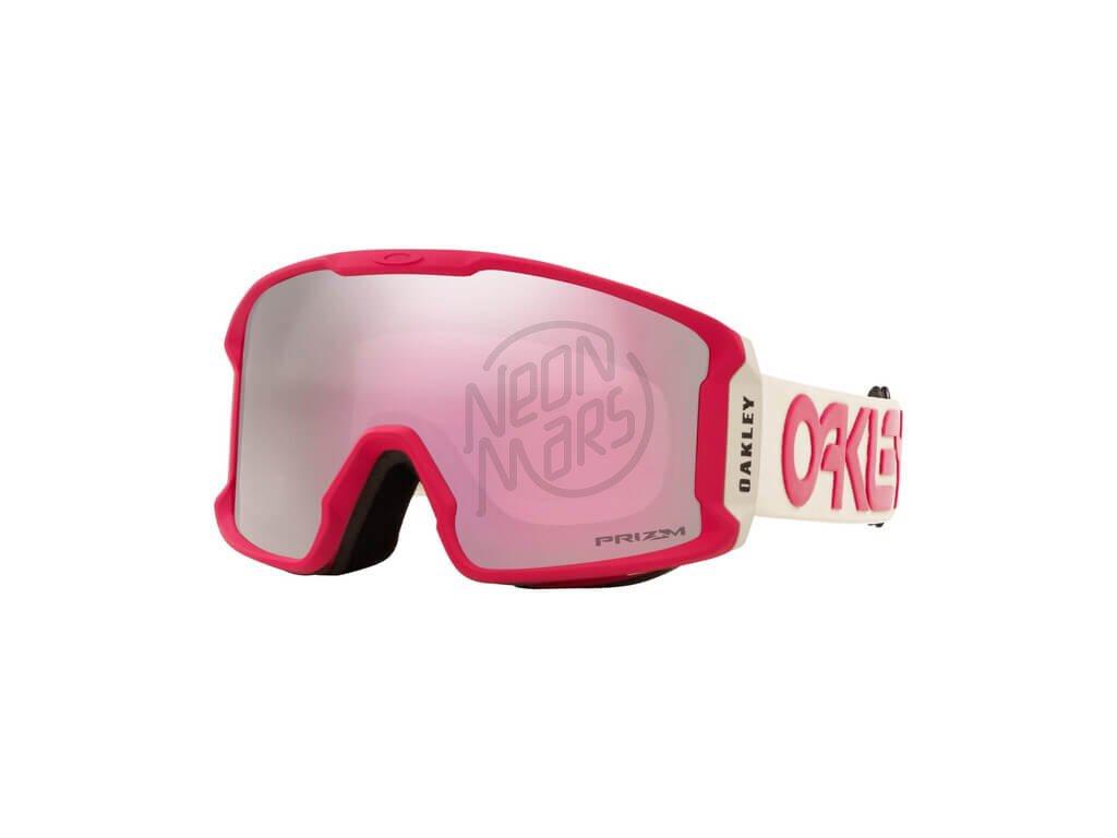 lyziarske okuliare oakley line miner XM rubine grey prizm hi pink 2