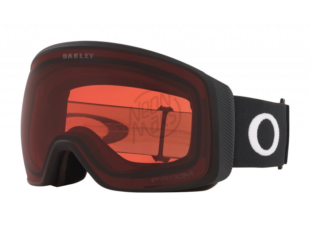 lyziarske okuliare oakley flight tracker xl matte black prizm rose