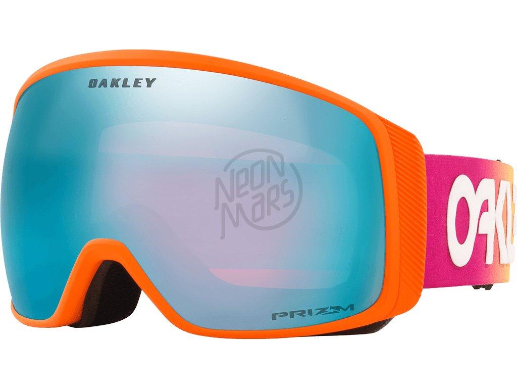 lyziarske okuliare oakley flight tracker xl torstein horgmo shredbot faded prizm sapphire