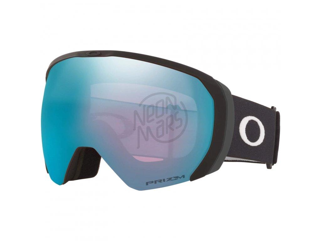 lyziarske okuliare oakley flight path xl matte black prizm sapphire