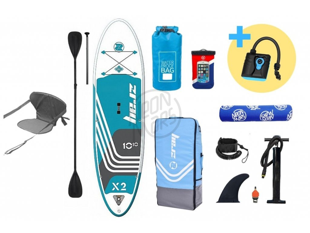 paddleboard z ray x2 deluxe 10,10 produkt 1