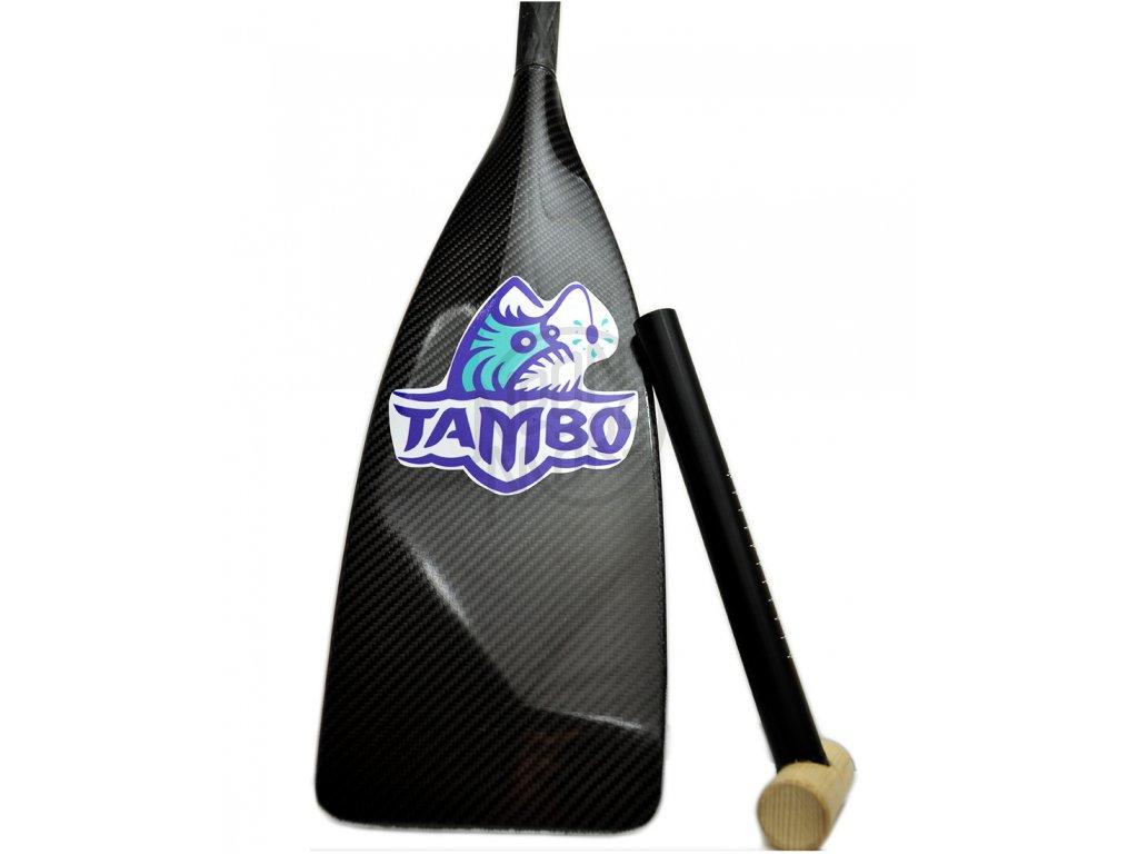 Padlo na SUP Tambo Scalpel Carbon Custom