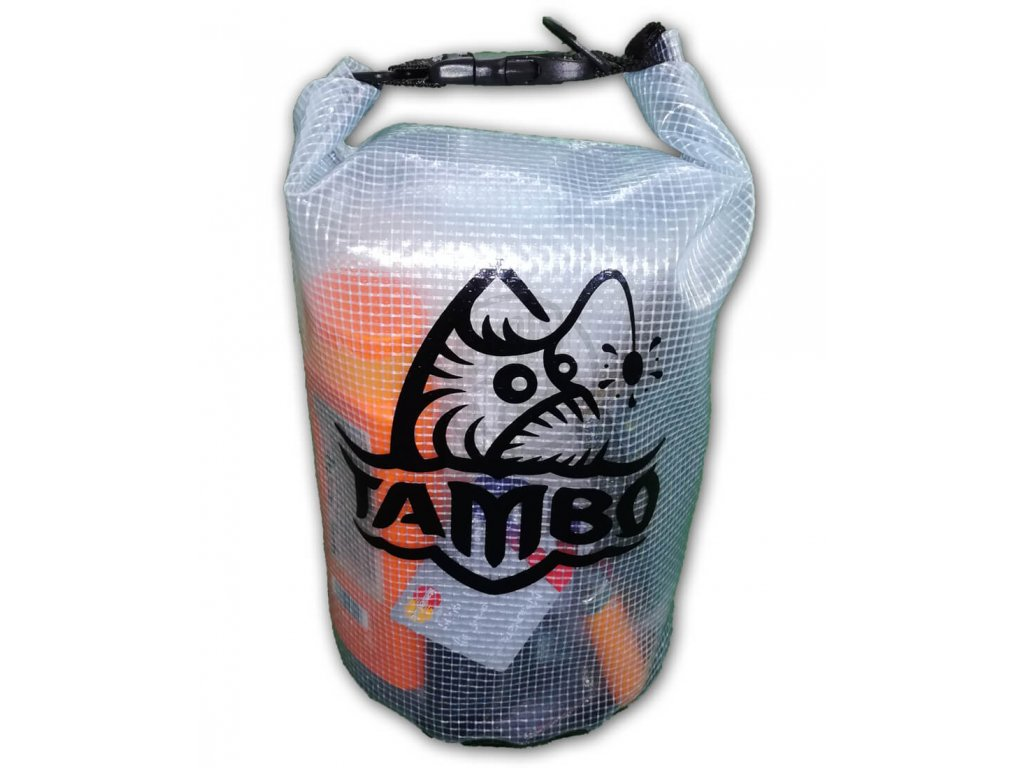 Nepremokavy batoh Tambo Dry bag transparent 5l
