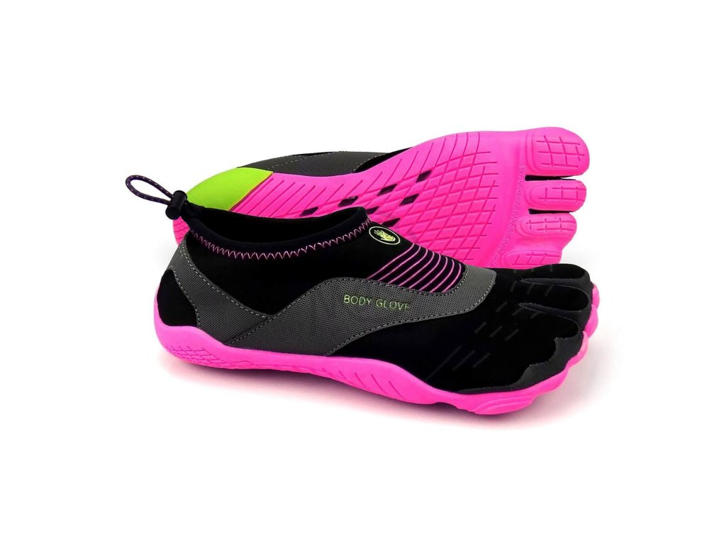 Neoprenove topanky Body glove 3T Cinch Black Pink