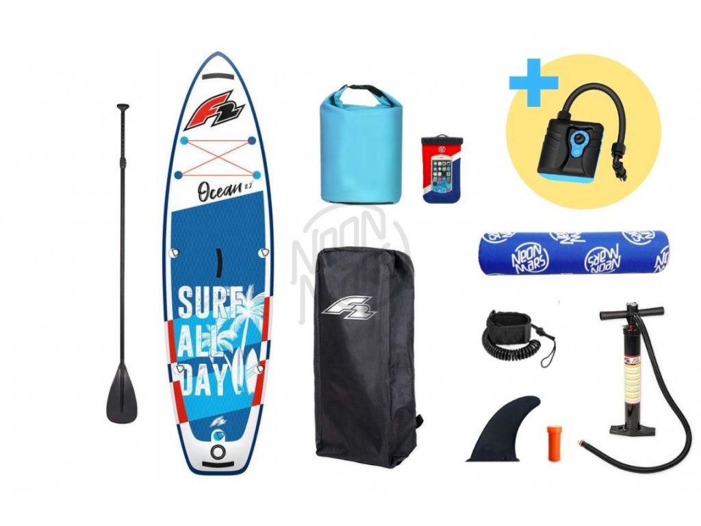 paddleboard f2 ocean boy 9 2 blue produkt 1