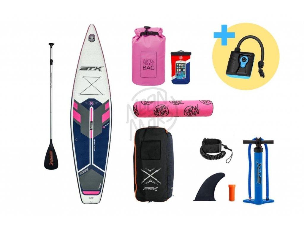 paddleboard stx tourer pure 11 6 pink navygrey produkt 1
