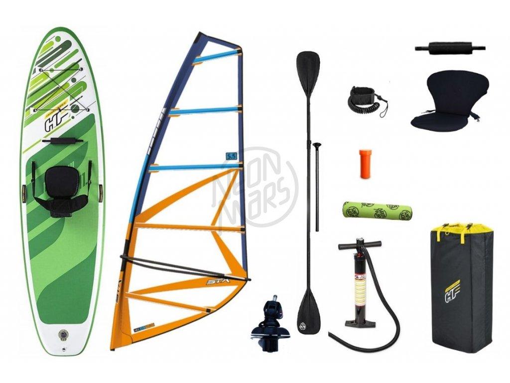 Windsurfový set Hydro-Force Freesoul + STX HD20 Rigg