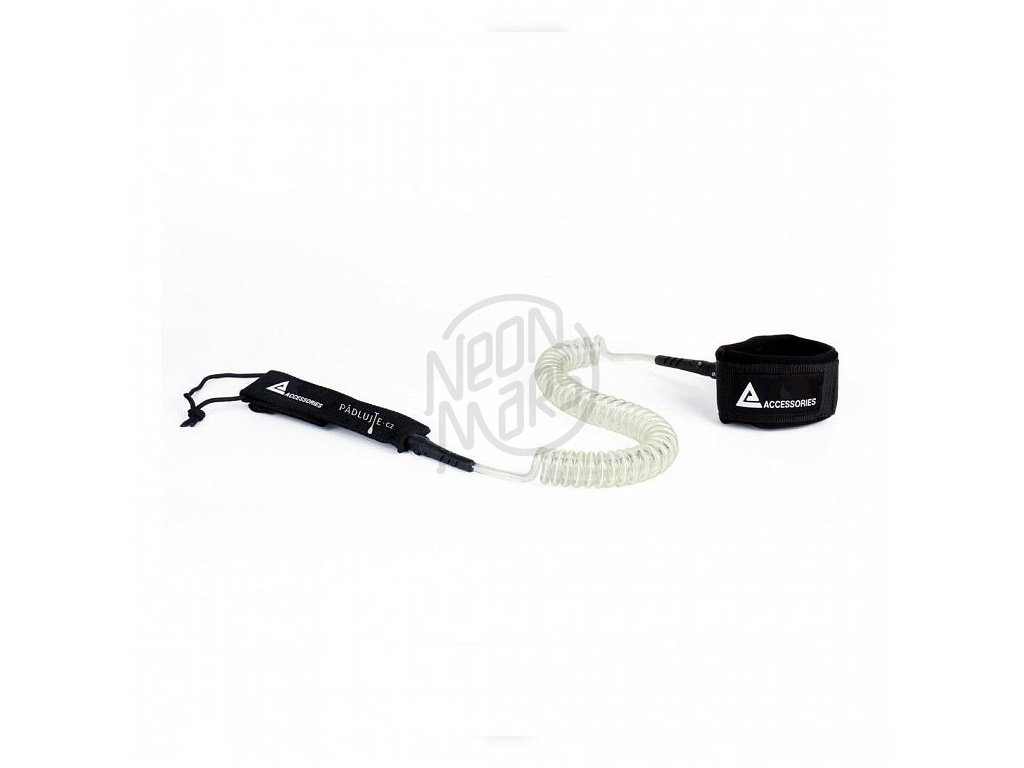 abstract leash sup white