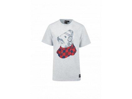 Pánske tričko sivé Picture Seal S/S