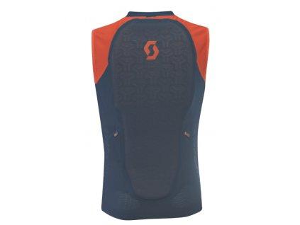 Pánska vesta s chráničom chrbtice na lyže a snowboard Scott Actifit Plus