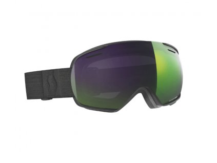 okuliare na lyze a snowboard scott linx black enhancer green chrome
