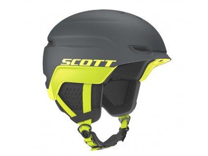 Prilba na lyže a snowboard sivá Scott Chase 2 Iron Grey