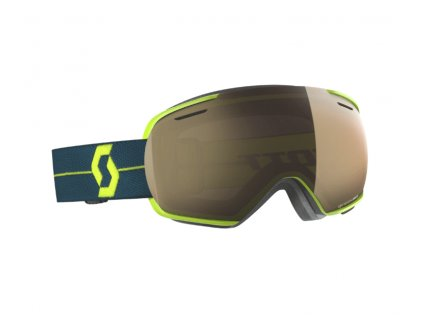 okuliare na lyze a snowboard scott linx light sensitive blue bronze chrome