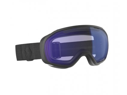 okuliare na lyze a snowboard scott fix black illuminator blue chrome