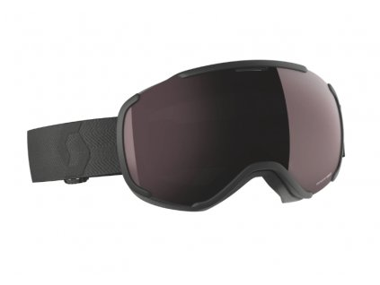 okuliare na lyze a snowboard scott faze II black enhancer silver chrome