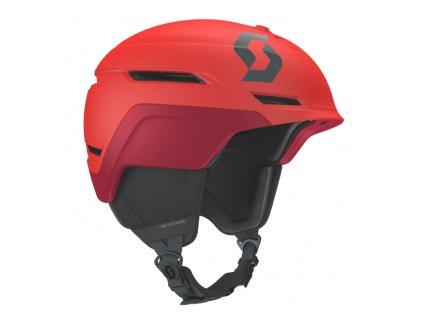 Prilba na lyže a snowboard červená Scott Symbol 2 Plus