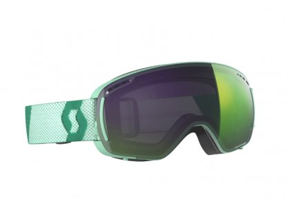 okuliare na lyze a snowboard scott lcg compact mint enhancer green chrome