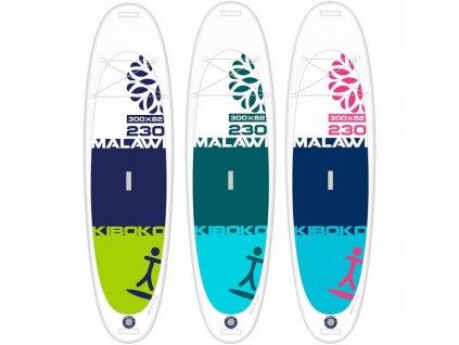SUP Kiboko Malawi 230 FT 2019 paddleboard neonmars farebne varianty