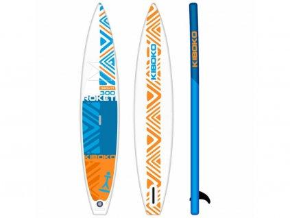 SUP Kiboko Roketi 300 FT 2019 paddleboard neonmars