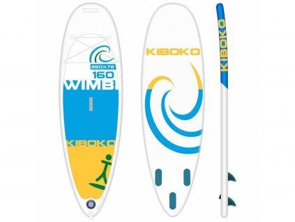 SUP Kiboko Wimbi 160 FT 2019 paddleboard neonmars