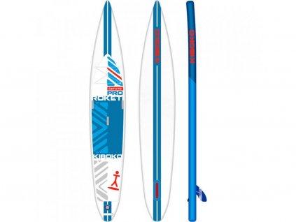 SUP Kiboko Roketi Pro 70 Downwind 2019 paddleboard neonmars