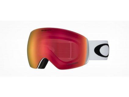 lyziarske okuliare oakley flight deck xl matte white