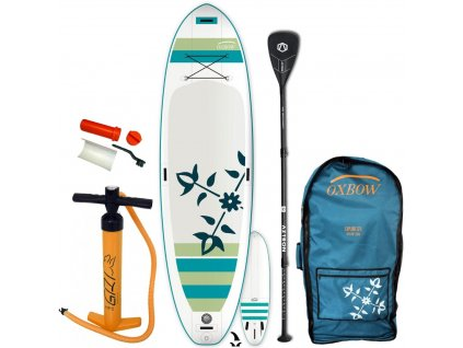 paddleboard oxbow play air 10 6 s hlinikovym padlom aztron