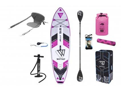 paddleboard wattsup jelly kajak set