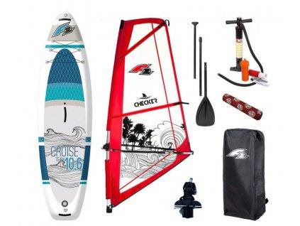 Windsurfový set F2 juniorský  Paddleboard aj windsurf