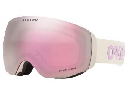 lyziarske okuliare oakley flight deck fp grey lavender prizm hi pink