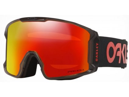 lyziarske okuliare oakley line miner scotty james crystal black prizm torch 2