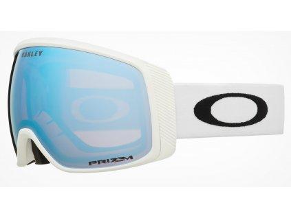 lyziarske okuliare oakley flight tracker matte white prizm sapphire