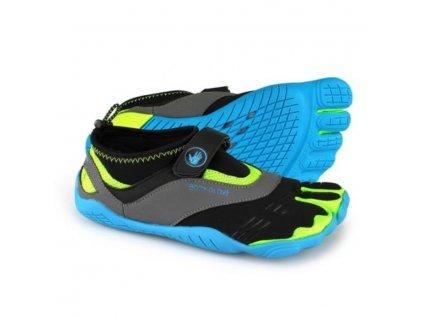 Neoprénové topánky Body Glove 3T Max Blue/Yellow