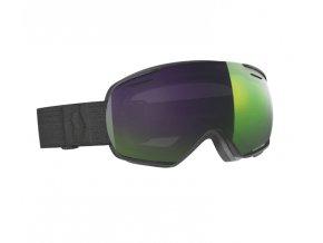 okuliare na lyze a snowboard scott linx black enhancer green chrome