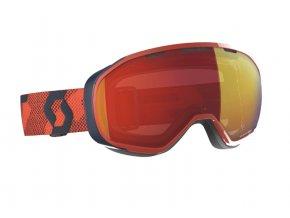 okuliare na lyze a snowboard scott fix orange enhancer red chrome