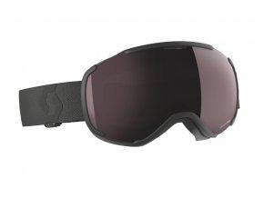 okuliare na lyze a snowboard scott faze II black enhancer silver chrome