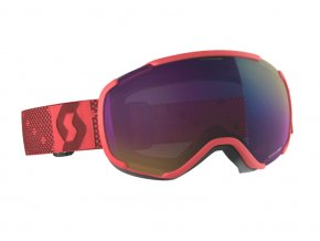 okuliare na lyze a snowboard scott faze II pink enhancer teal chrome