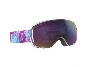 okuliare na lyze a snowboard scott lcg compact purple enhancer teal chrome