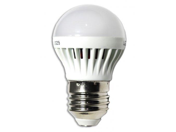 LED žárovka 3W (náhrada 12W), závit E27, studená bílá