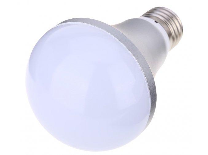 RGB LED žárovka, 5W, závit E27 + dálkový ovladač