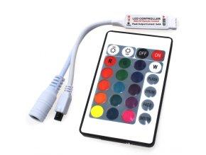 Ovládání RGB LED pásku, 24 tlačítek