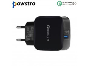 powstro Quick Charge 3 0 Charger QC 3 0 wall Charge Fast Charger Travel For iPhone