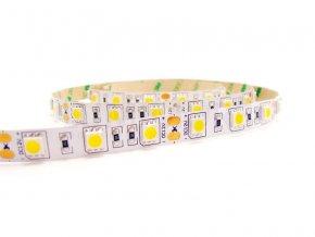 Bílý LED pásek 5050, 60 diod/m, 5m