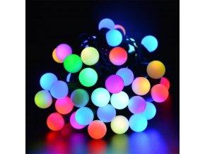 Vánoční řetěz 25 LED koulí 4m, IP44