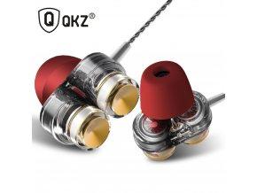 Dvouměničový headset QKZ KD7 s mikrofonem