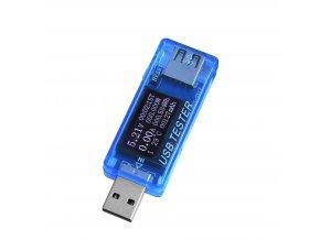 USB měřič proudu, napětí, kapacity a výkonu Keweisi KWS-MX17