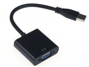 Redukce z USB 3.0 na VGA