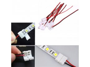Napájecí kabel pro jednobarevný 5050 LED pásek + jack-F konektor