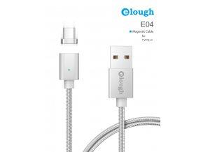 Datový magnetický kabel USB-C - USB, Elough E04, 1m