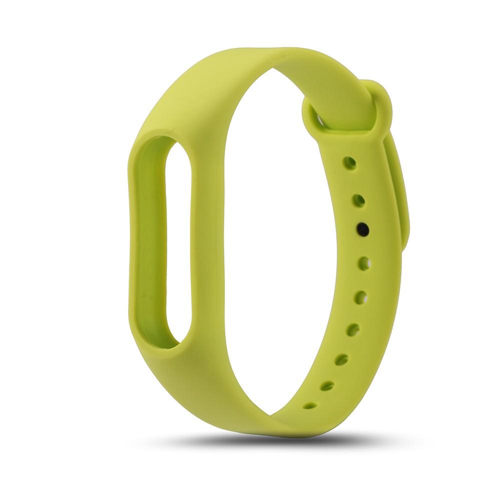Náhradní náramek pro Xiaomi Mi Band 2 Barva: Zelená